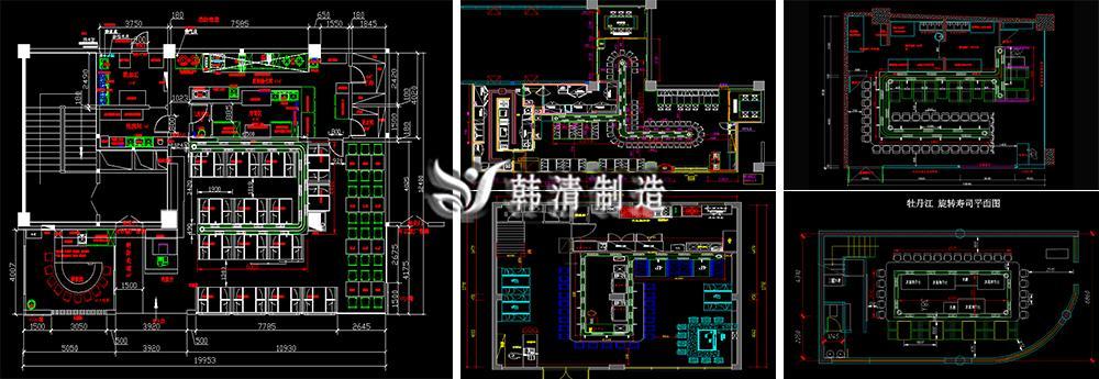 寿司店设计平面图